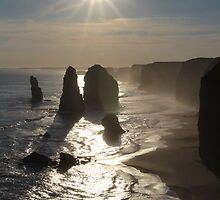 Sunset, Apostles by Andrew Felton