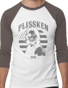 Plissken For President 2016 Men's Baseball ¾ T-Shirt