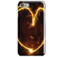 Sparkling heart iPhone Case/Skin