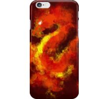 FIRE DRAGON ANSTRACT iPhone Case/Skin