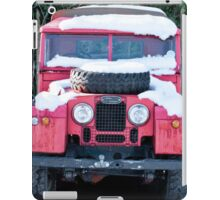 Red Landrover iPad Case/Skin
