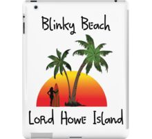 Blinky Beach Lord Howe Island iPad Case/Skin