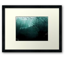 #1137  -  Submerged Framed Print