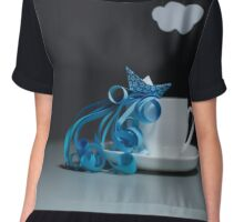 Storm in a teacup... Chiffon Top