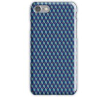 Blue / Green Cube / Qube iPhone Case/Skin
