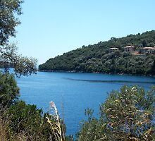Sivota Sea, Greece by Hannah Richardson