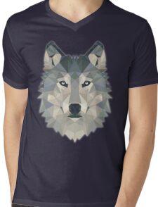 T-shirt Wolf Mens V-Neck T-Shirt