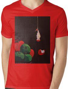 Still Life Before Death Mens V-Neck T-Shirt