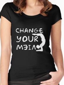 change your view Women's Fitted Scoop T-Shirt