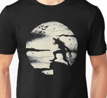 Werewolf With The Full Moon Unisex T-Shirt