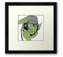 Saga comic book  Framed Print
