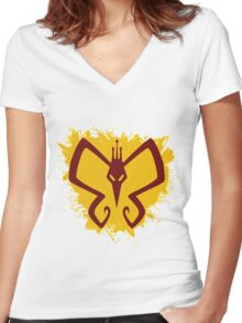 Monarch - The Venture Bros. Women's Fitted V-Neck T-Shirt