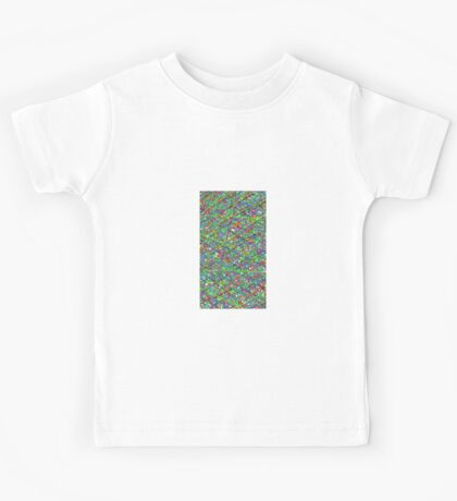 Colourful Scribble Kids Tee