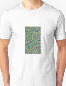 Colourful Scribble Unisex T-Shirt