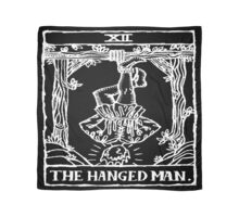 The Hanged Man Tarot Card Print Scarf