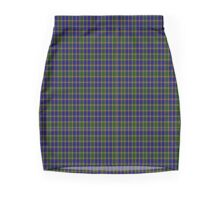 01269 Color Matrix Fashion Tartan  Mini Skirt