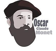 Famous painter Oscar-Claude Monet Photographic Print