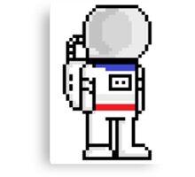 Pixel astronaut Canvas Print