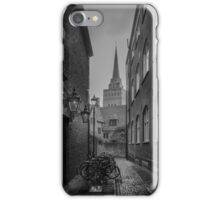 Bikes Parked in the Street (Oxford) iPhone Case/Skin