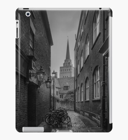 Bikes Parked in the Street (Oxford) iPad Case/Skin
