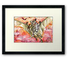 Victorious Pterosaur Framed Print