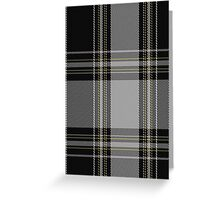 01265 Gang Plank Fashion Tartan  Greeting Card