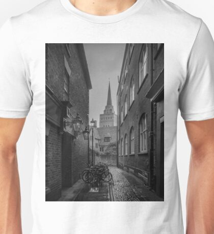 Bikes Parked in the Street (Oxford) Unisex T-Shirt