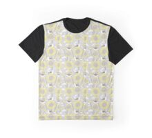 Sunflowers and Finches Graphic T-Shirt
