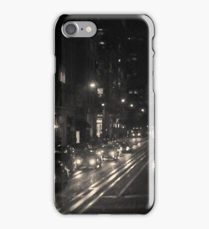 San Francisco Night I Toned iPhone Case/Skin