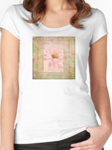 Pink Daisy  Women's Fitted Scoop T-Shirt