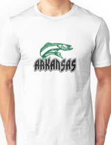 FISH ARKANSAS VINTAGE LOGO Unisex T-Shirt