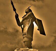 Inca King Huayna Capac Appeals To The Sun God by Al Bourassa