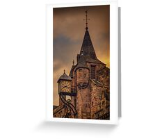 Canongate Tolbooth: The Royal Mile, Edinburgh Greeting Card