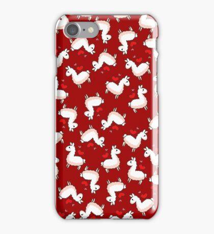 Llama Madness iPhone Case/Skin