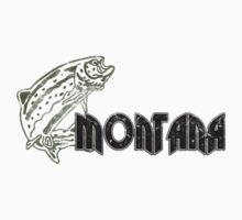 FISH MONTANA VINTAGE LOGO Kids Clothes