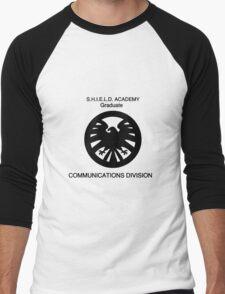 Shield academy graduate - communications division  Men's Baseball ¾ T-Shirt
