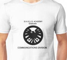 Shield academy graduate - communications division  Unisex T-Shirt