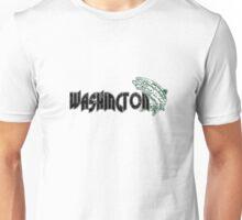 FISH WASHINGTON VINTAGE LOGO Unisex T-Shirt