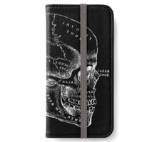 Vintage Anatomy: Skull  iPhone Wallet/Case/Skin