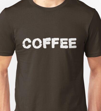 Coffee Appreciation - White Unisex T-Shirt