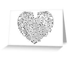 Circuit Hearth Greeting Card