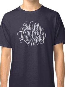 Wibbly Wobbly White Classic T-Shirt
