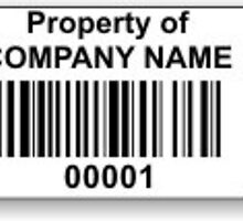 Custom Asset Tracking Labels - Advance Barcode and Label Technologies by silvialoren