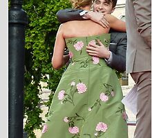 Daniel Radcliffe and J K Rowling Embrace by TinyHouseDesign