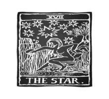 The Star Tarot Card Print Scarf