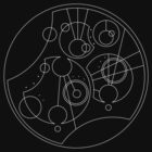 'Gallifrey Falls No More.' in Gallifreyan - Sleek (White) by ChibiPeppers