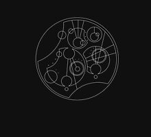 'Gallifrey Falls No More.' in Gallifreyan - Sleek (White) Women's Tank Top