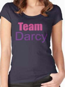 Team Darcy Women's Fitted Scoop T-Shirt