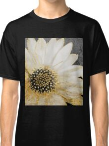 Gold and White Daisy Classic T-Shirt
