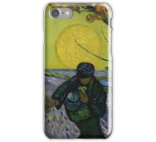 Vincent Van Gogh - The sower, June 1888 - 1888 iPhone Case/Skin